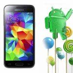 Samsung Galaxy S5 mini comienza a recibir Android 5.0.1 Lollipop