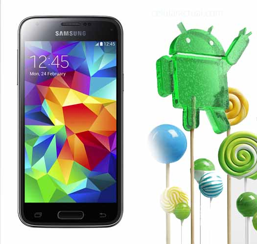 Galaxy S5 mini con Android Lollipop