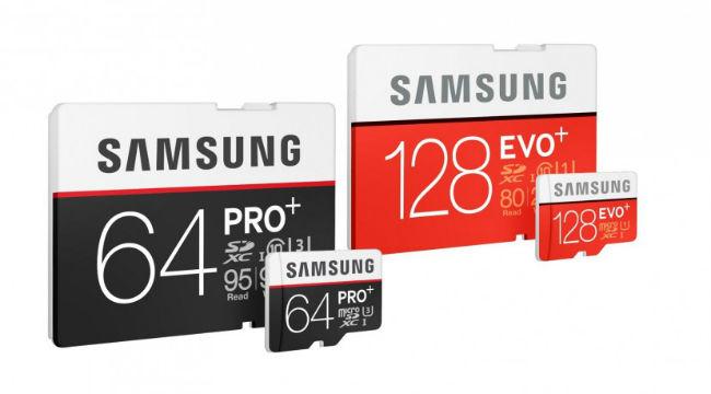 Samsung Pro Plus y Evo Plus