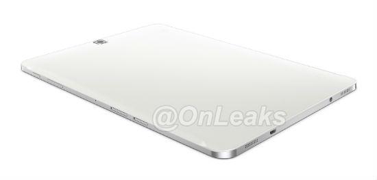 Samsung Galaxy Tab S2 render vista trasera
