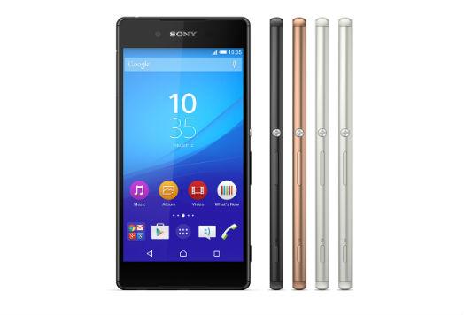 Sony Xperia Z3+ colores