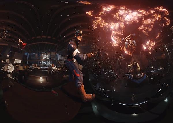 Video en 360 grados youtube visto por Gear VR