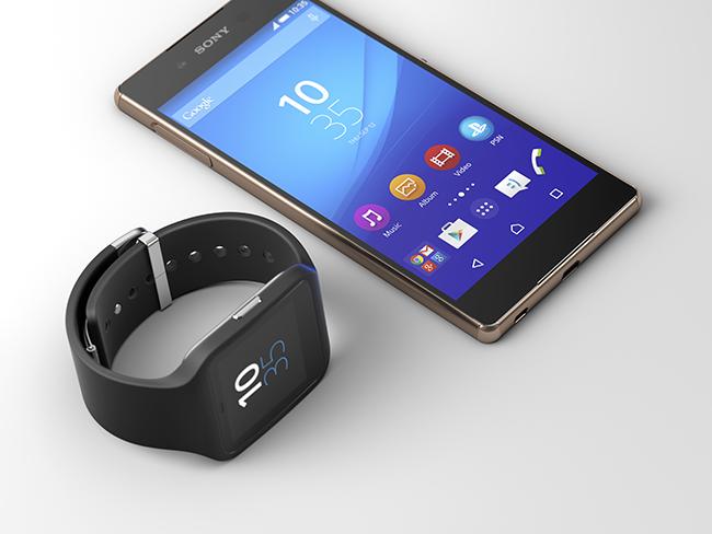 Sony  Xperia Z3+ con Smartwatch