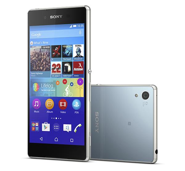 Sony Xperia Z3+ color azul