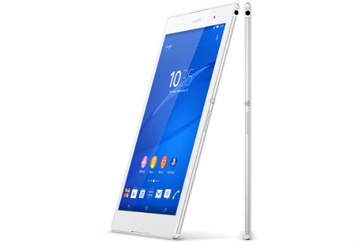 Xperia Z3 Tablet Compact vistas