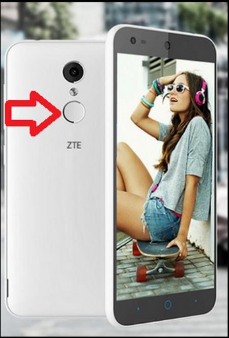 ZTE Xiao Xian 2 sensor de huellas