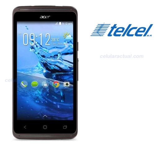 Acer Liquid Z410 en México con Telcel