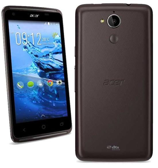 Acer Liquid Z410 color negro pantalla y cámara