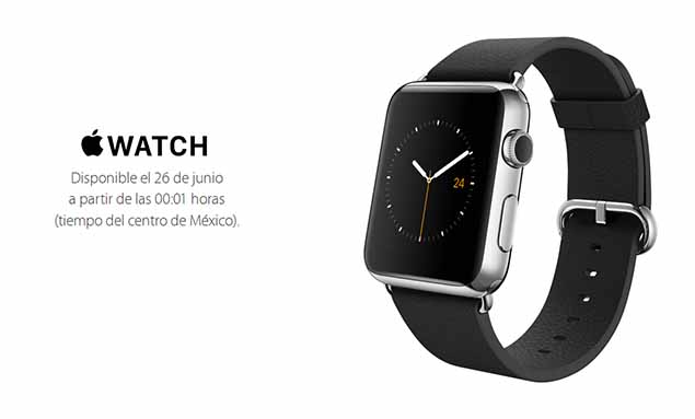 Apple Watch venta en México