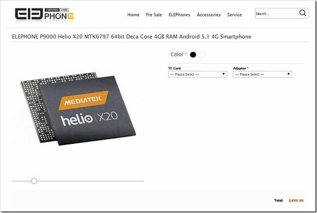 Mediatek Helio X20 procesador