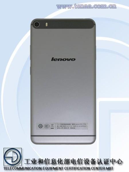 Lenovo Phablet 2015 cubierta trasera
