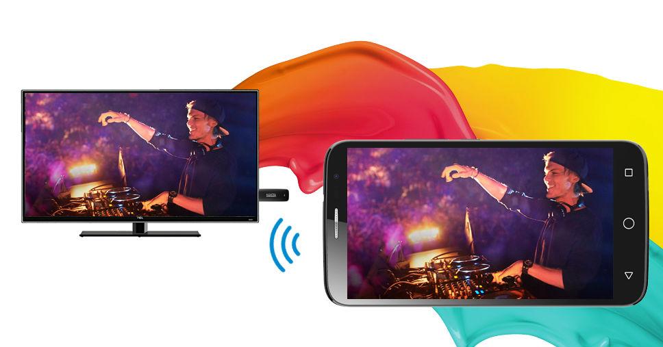 Alcatel Hero 2C pantalla
