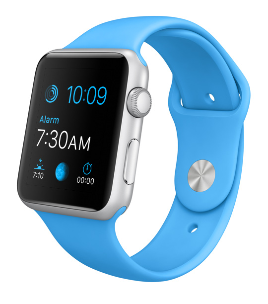 Apple Watch color azul