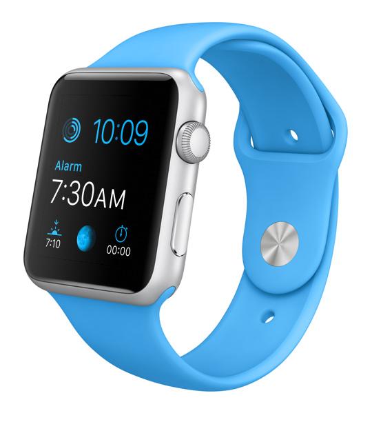 Apple Watch color azul