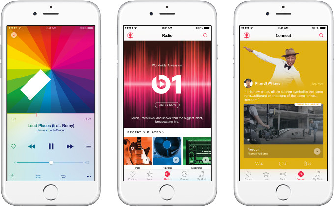 Apple Music con Beats 1