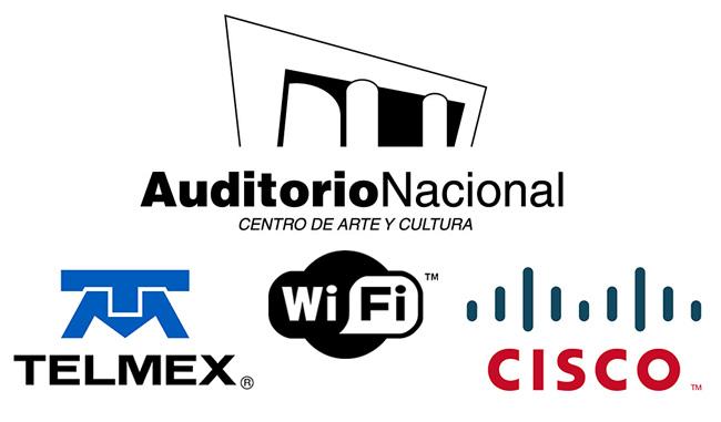 Auditorio Nacional con WiFi gratis con Cisco y Telmex