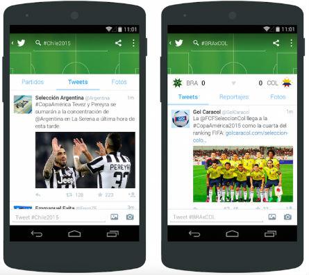 Copa America 2015 en iOS y Android