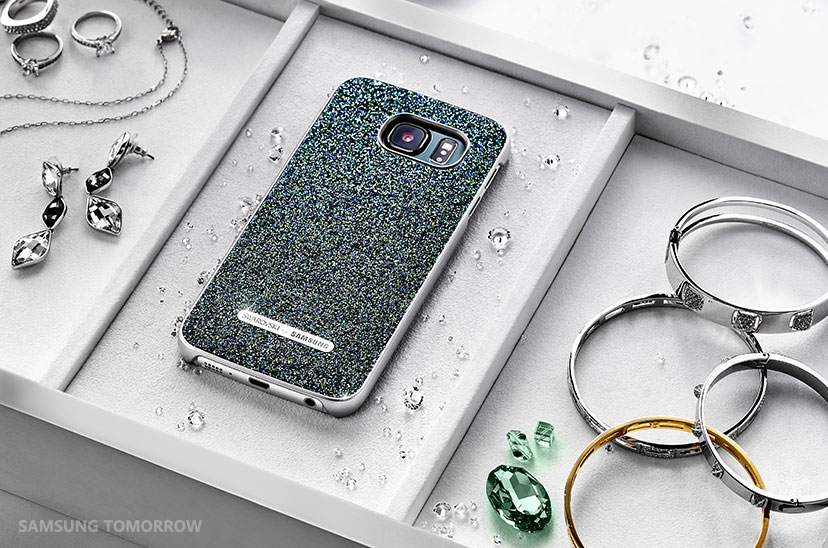 Cubiertas Samsung S6 y S6 Edge Swarovski