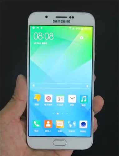 Hands-on Samsung Galaxy A8