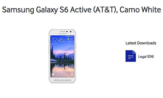 Samsung Galaxy S6 Active AT&T
