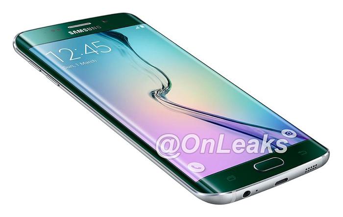 Samsung Galaxy S6 edge Plus en render oficial filtrado