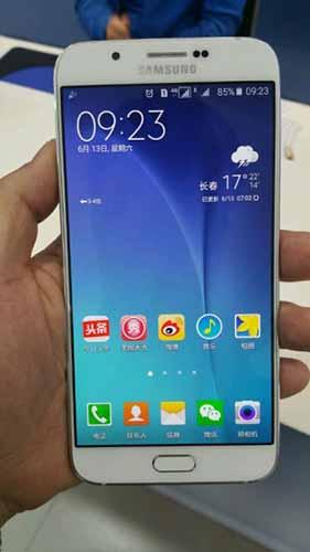 Samsung Galaxy A8 filtrado