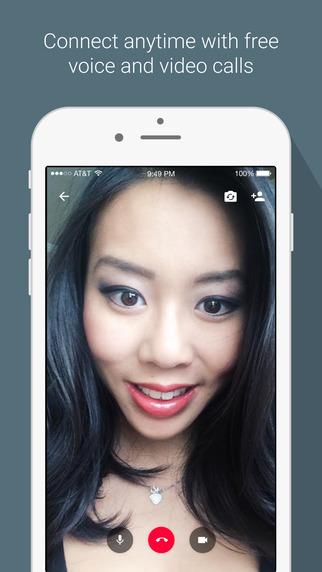 Google Hangouts 4.0 para iOS video llamada