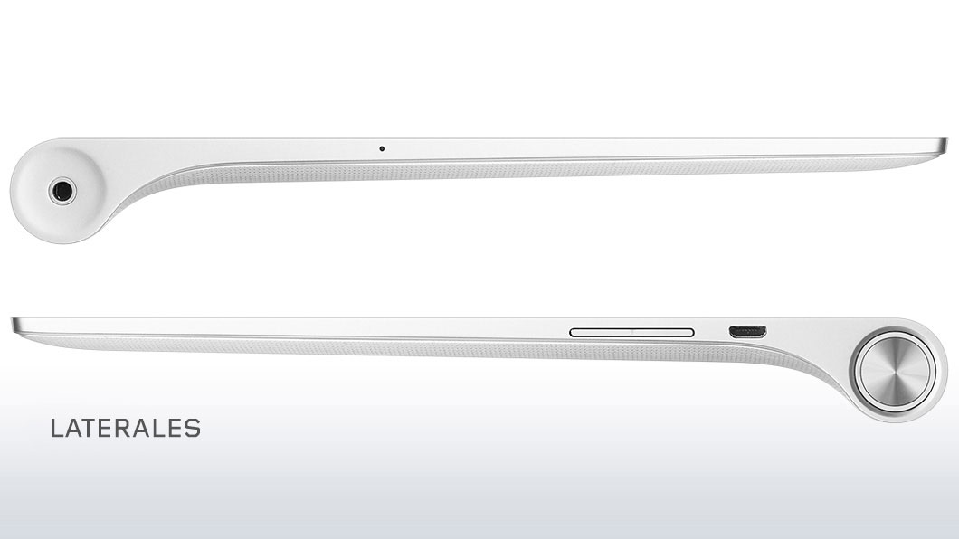 Lenovo Yoga Tablet 2 laterales