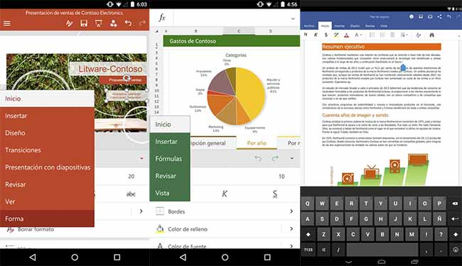 Microsoft Office para Android