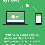 App de la semana: Portal, transfiere archivos sin cables de tu computadora al teléfono