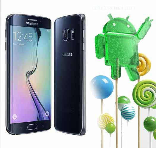 Samsung Galaxy S6 Edge Lollipop