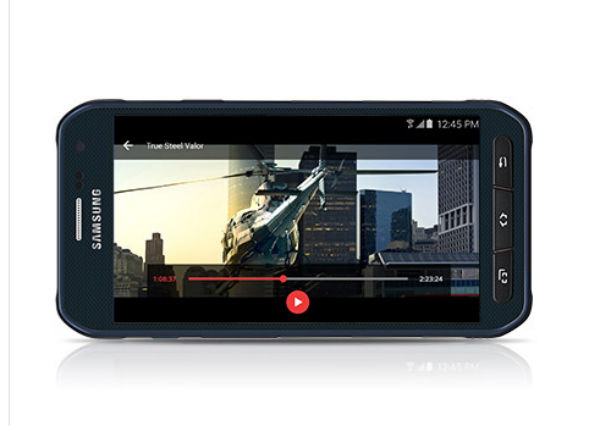 Samsung Galaxy S6 Active cámara
