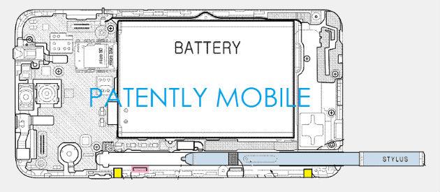 Samsung patente S-Pen