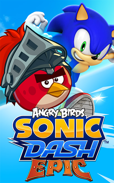 Sonic Dash Angry Birds Epic
