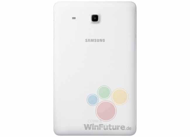 Galaxy Tab E 9.6 cubierta trasera