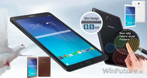 Materiales Galaxy Tab E 9.6