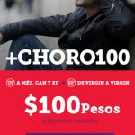 Virgin presenta +Choro 100, con llamadas a Line ilimitadas