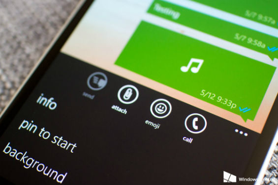 Whatsapp con llamadas de voz en Windows Phone