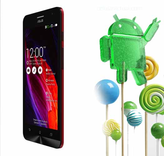 ZenFone 5 Lollipop