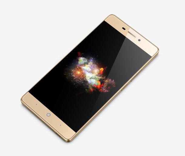 ZTE Star 3 color oro pantalla