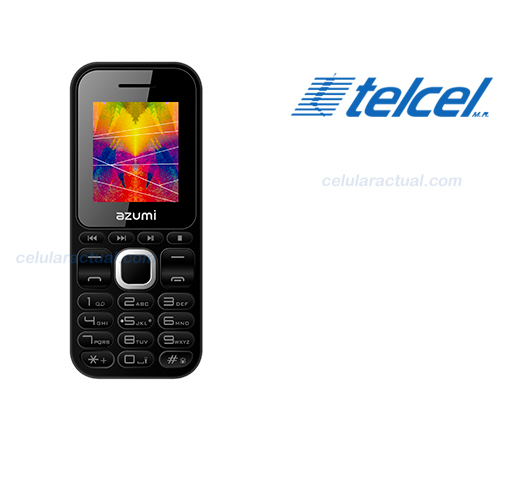 Azumi L2Z con Telcel en México
