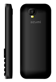 Azumi L2Z con Telcel color negro cámara trasera con Flash