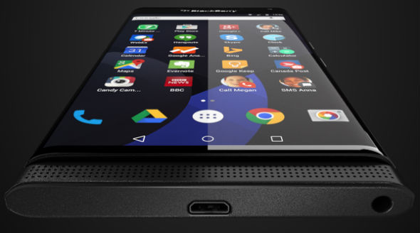 Blackberry Venice con Android