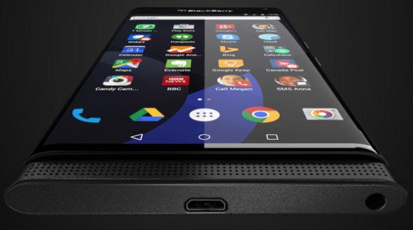 Blackberry Venice con Android