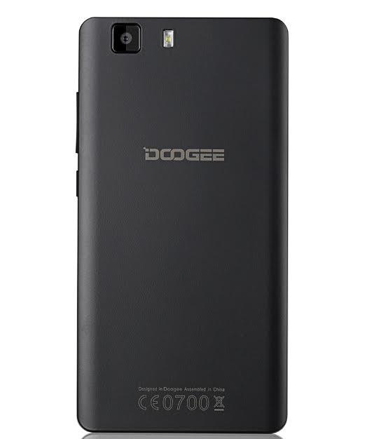 Doogee X5 vista posterior