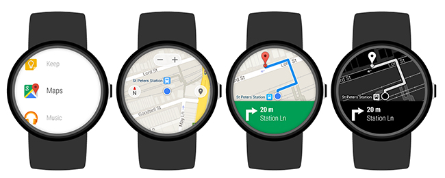 Google Maps para Android Wear