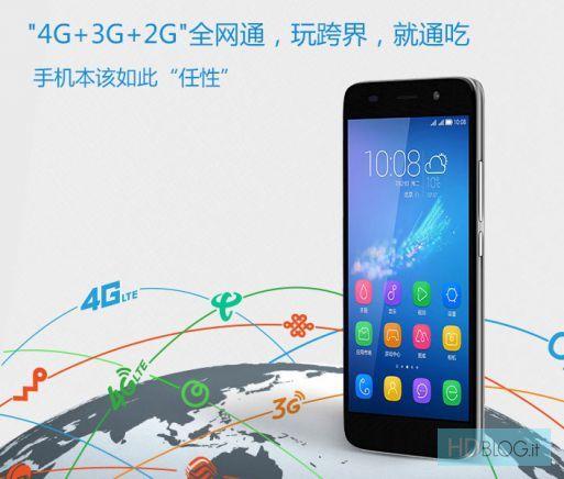 Huawei Honor 4A pantalla
