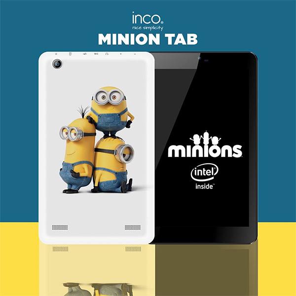 Nueva Inco Minion Tab de 8 pulgadas  personajes de la película de los Minions