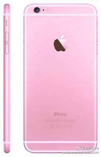 iPhone 6s color rosa