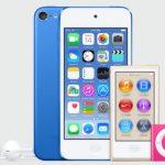 Apple revela nuevos modelos de iPod mediante iTunes 12